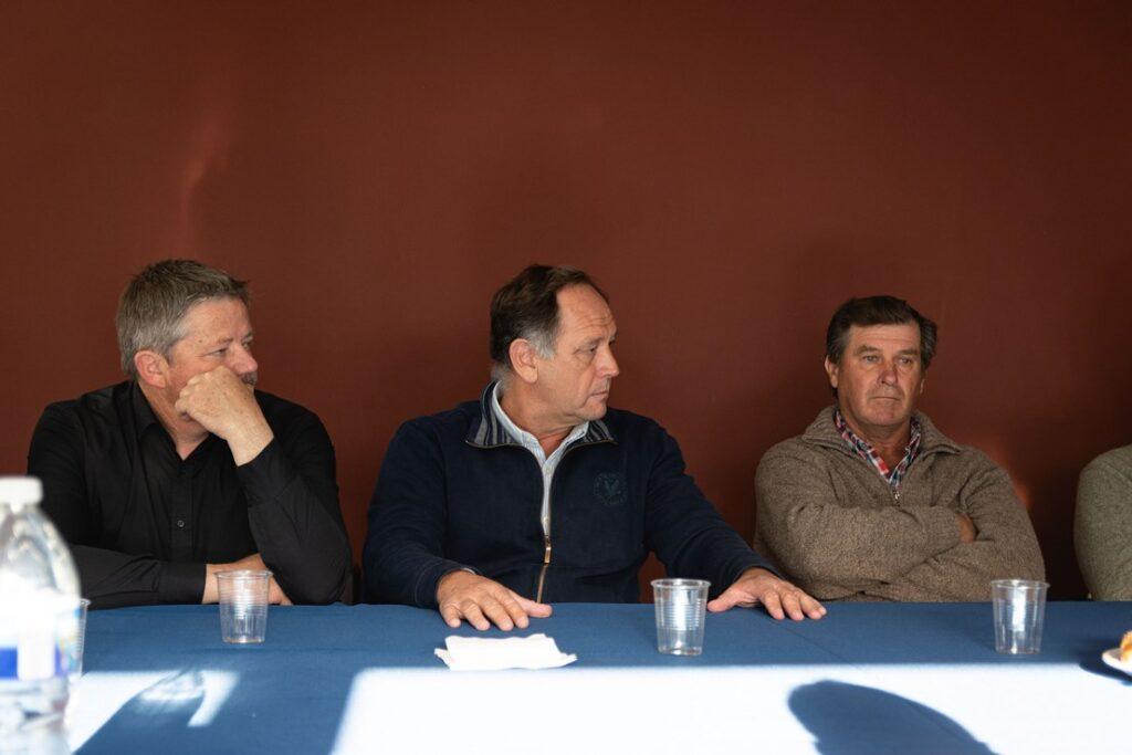 Reunión mesa de enlace